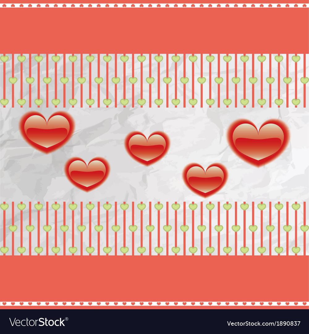 Happy valentines day cards vector | Price: 1 Credit (USD $1)
