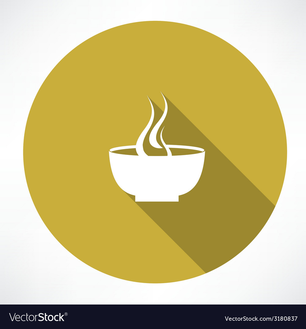 Hot plate icon vector | Price: 1 Credit (USD $1)