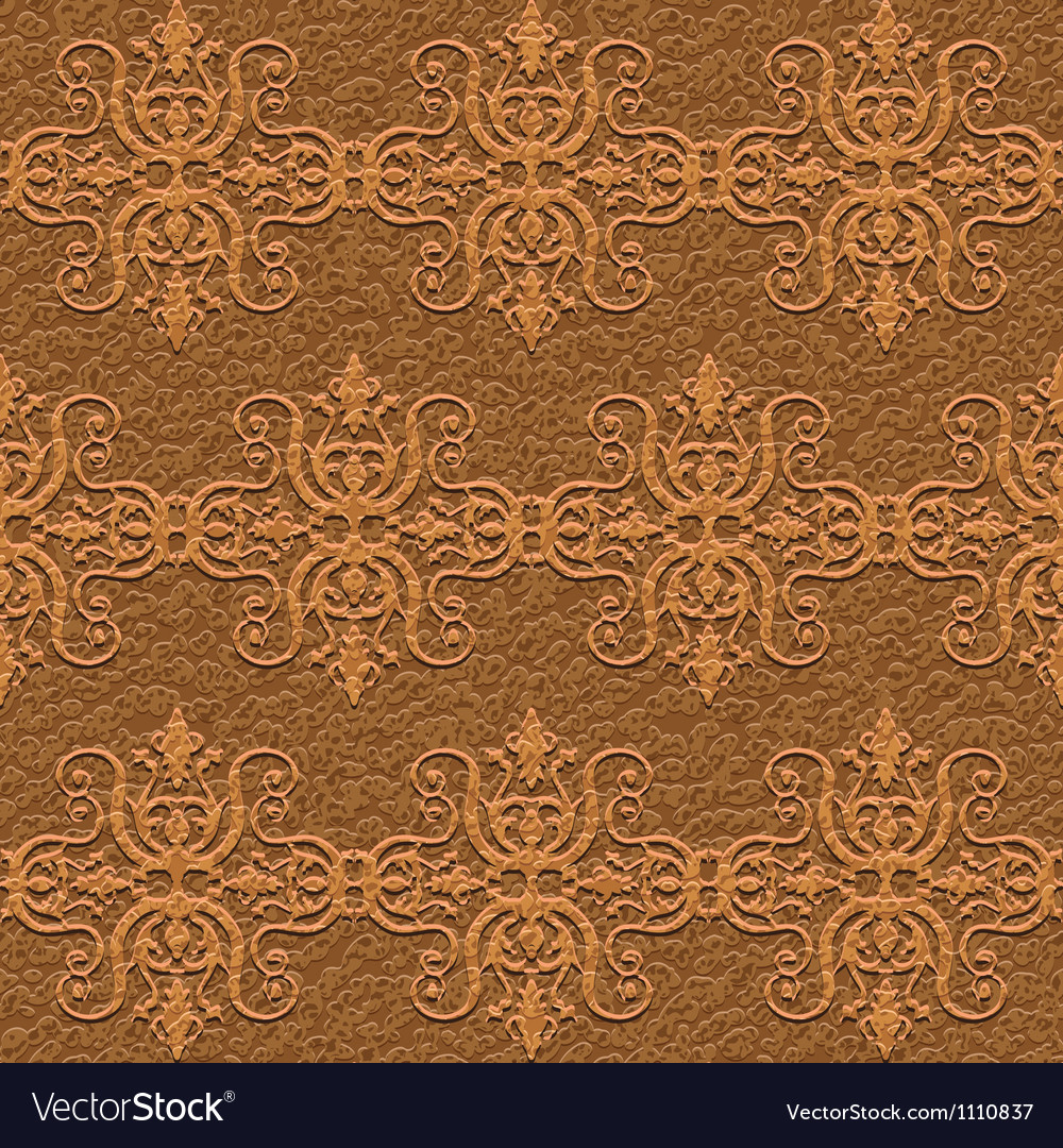 Leather carving ornament vector | Price: 1 Credit (USD $1)