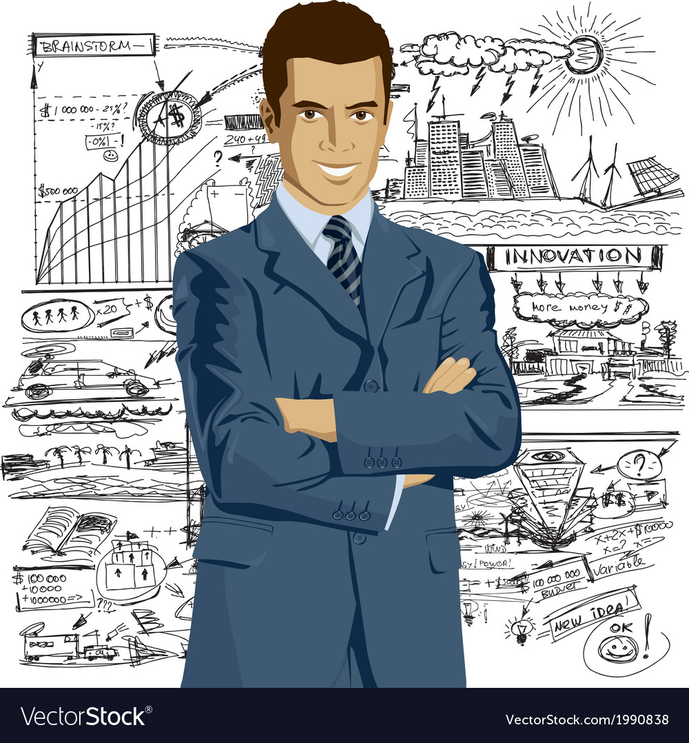 Entrepreneur vector | Price: 3 Credit (USD $3)