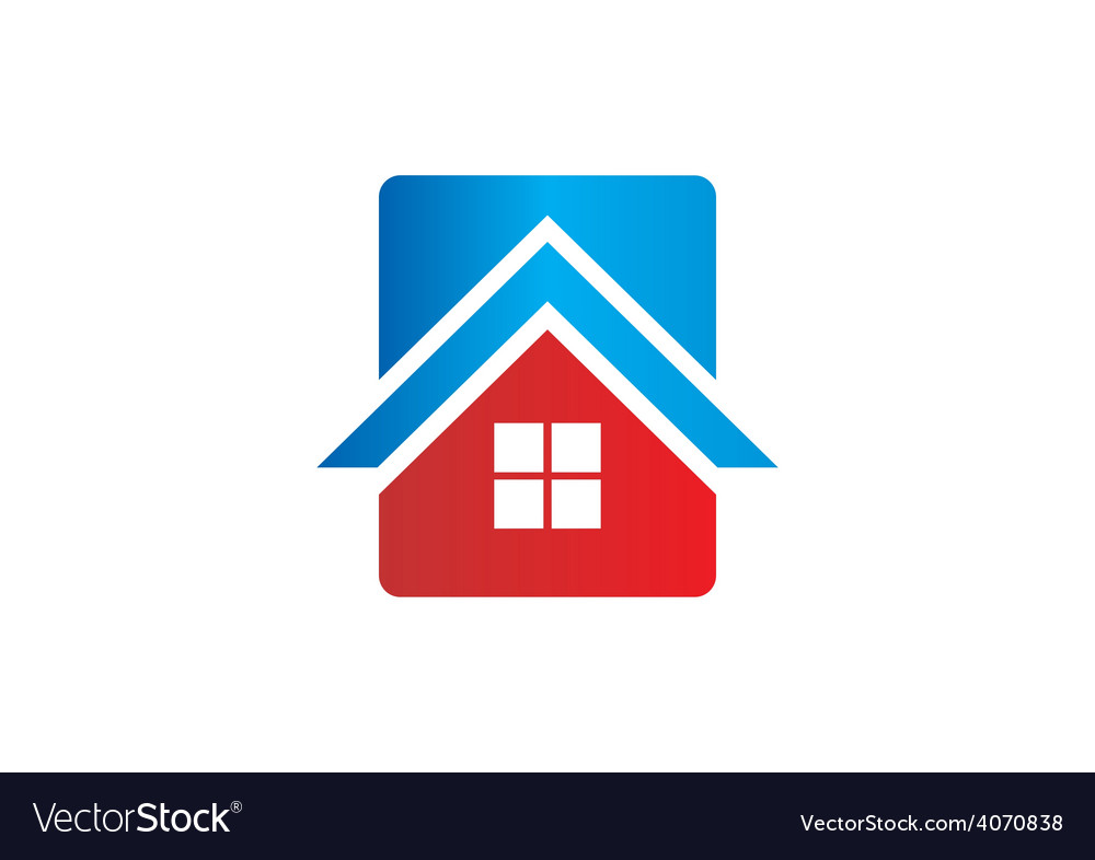 House icon abstract logo vector | Price: 1 Credit (USD $1)
