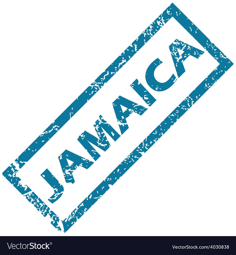 Jamaica rubber stamp vector | Price: 1 Credit (USD $1)