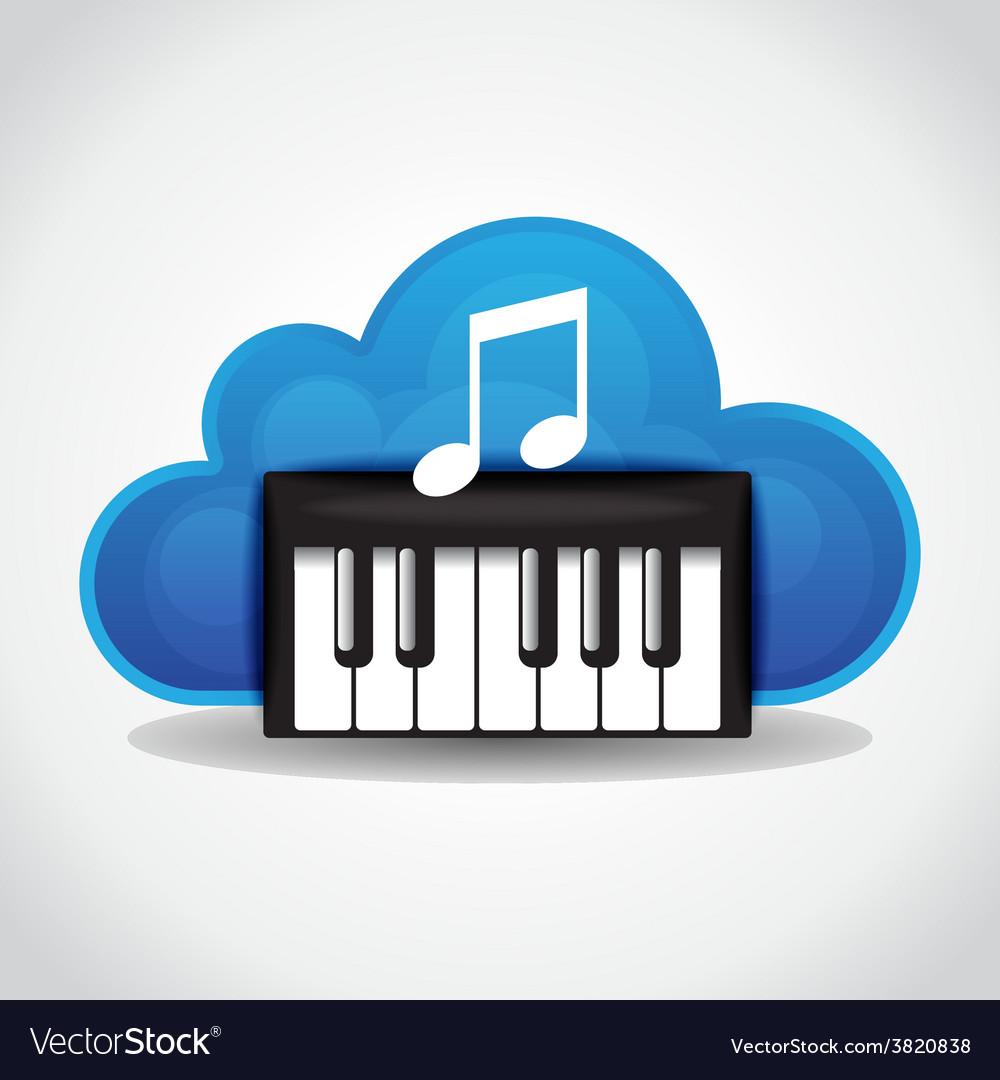 Music cloud vector   Price: 1 Credit (USD $1)