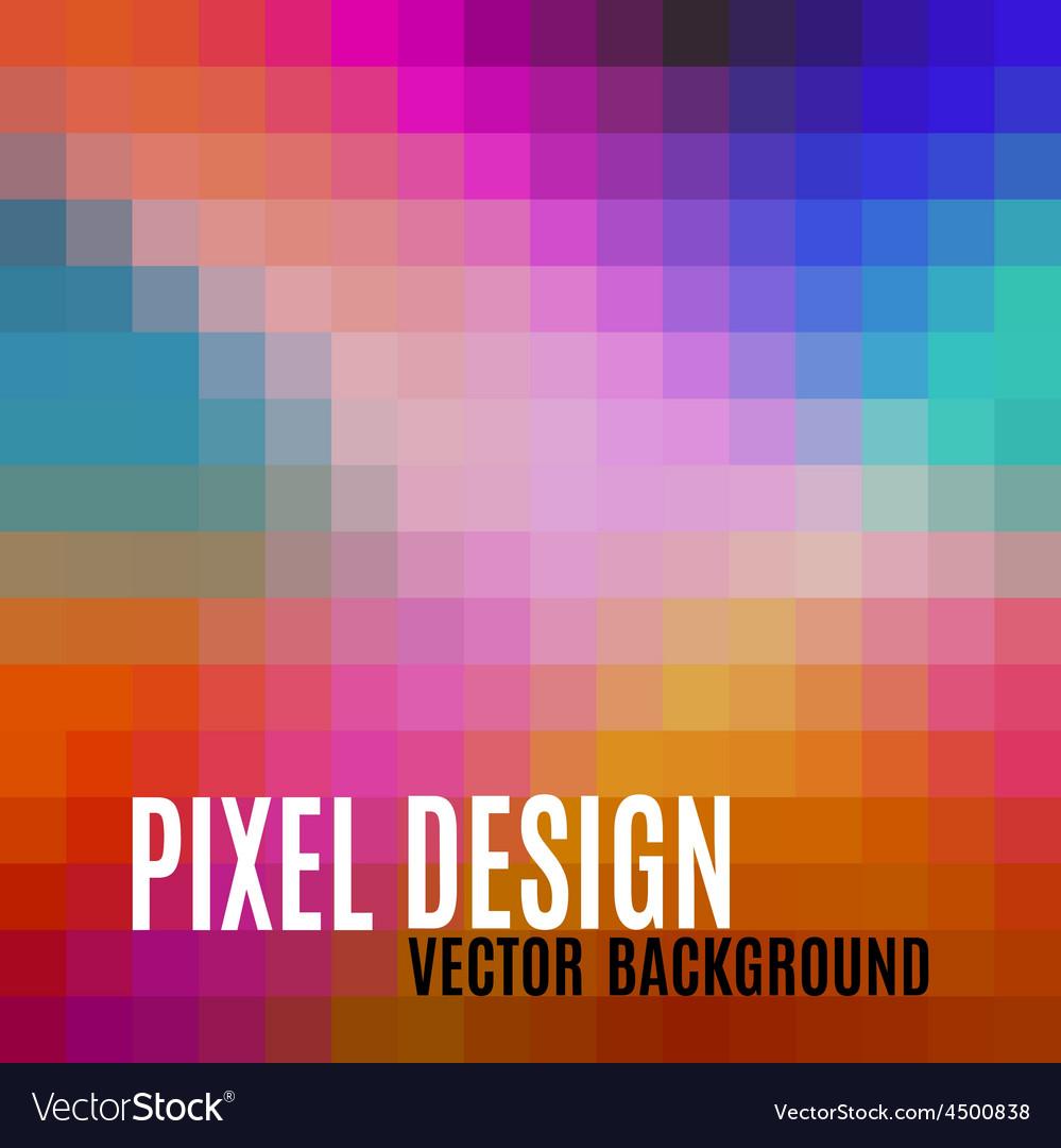 Pixel background vector