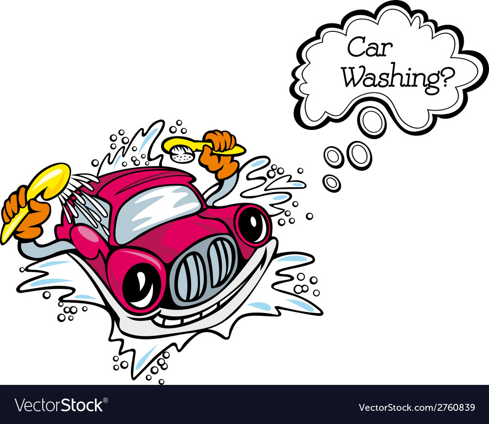 Car washsing service vector | Price: 1 Credit (USD $1)