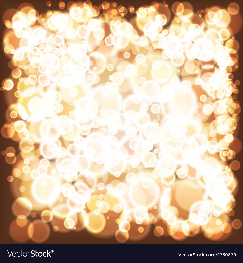 Lights background holiday abstract glitter vector | Price: 1 Credit (USD $1)