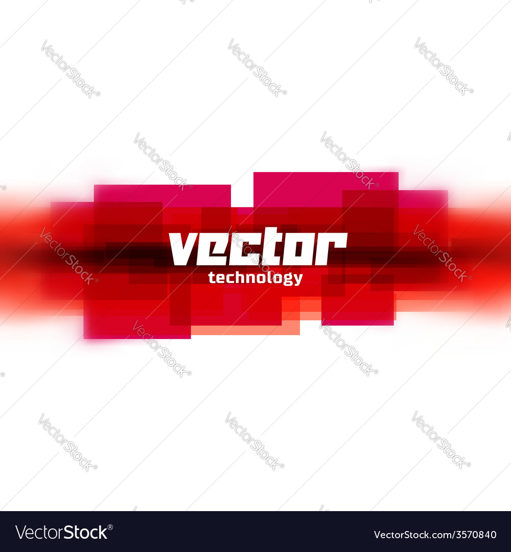 Background with red blurred lines vector | Price: 1 Credit (USD $1)