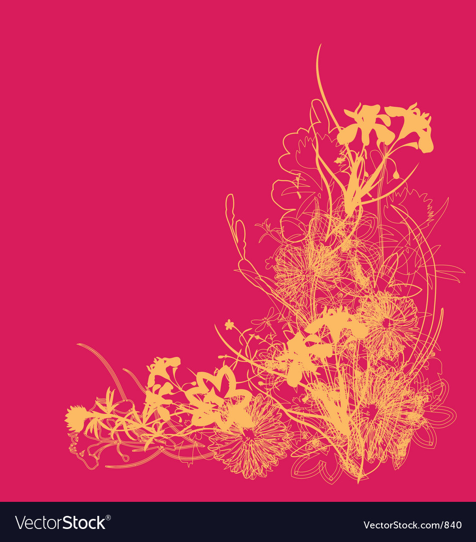 Floral burst vector | Price: 1 Credit (USD $1)