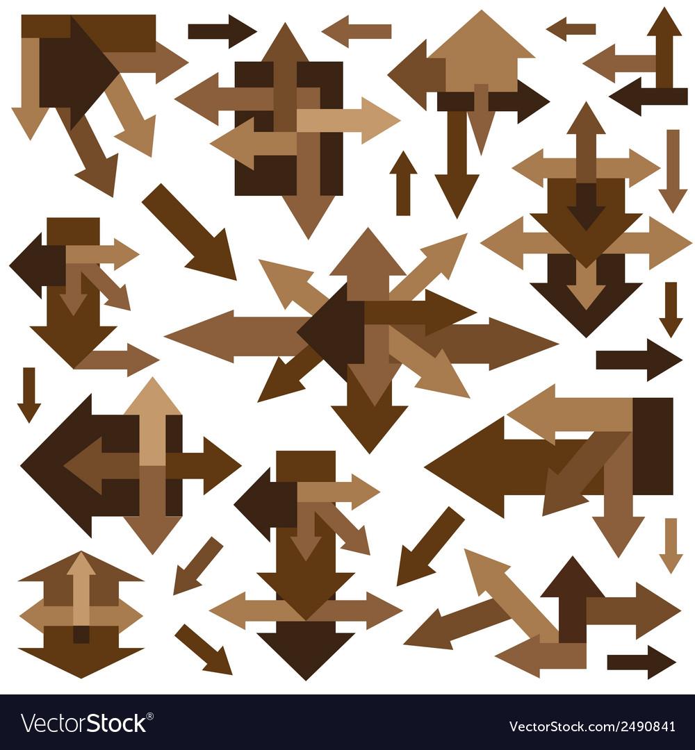Arrows - design elements vector | Price: 1 Credit (USD $1)