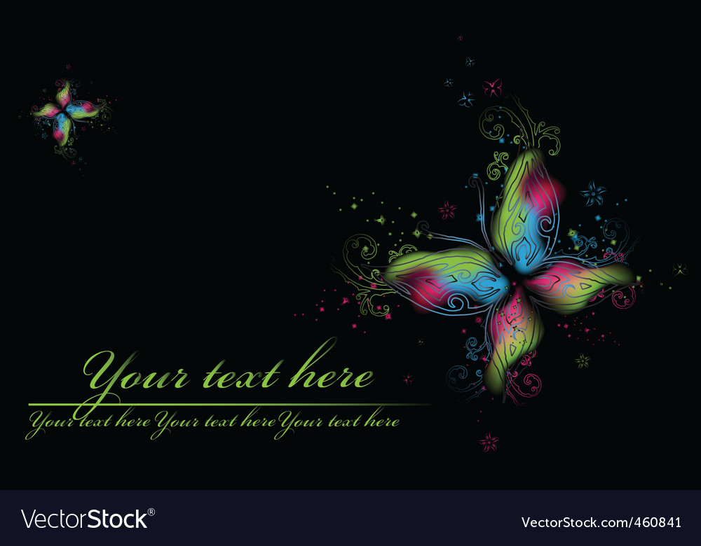 Beauty butterflies vector | Price: 1 Credit (USD $1)