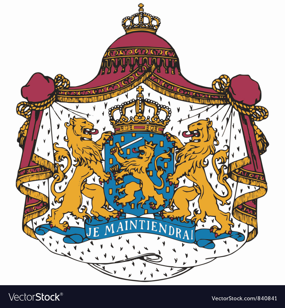 Coat of arms of netherlands vector | Price: 3 Credit (USD $3)