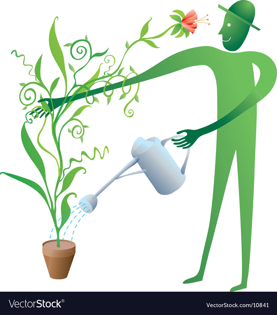 The good gardener vector   Price: 3 Credit (USD $3)