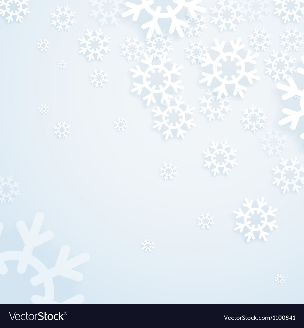 Winter abstract bright background vector | Price: 1 Credit (USD $1)