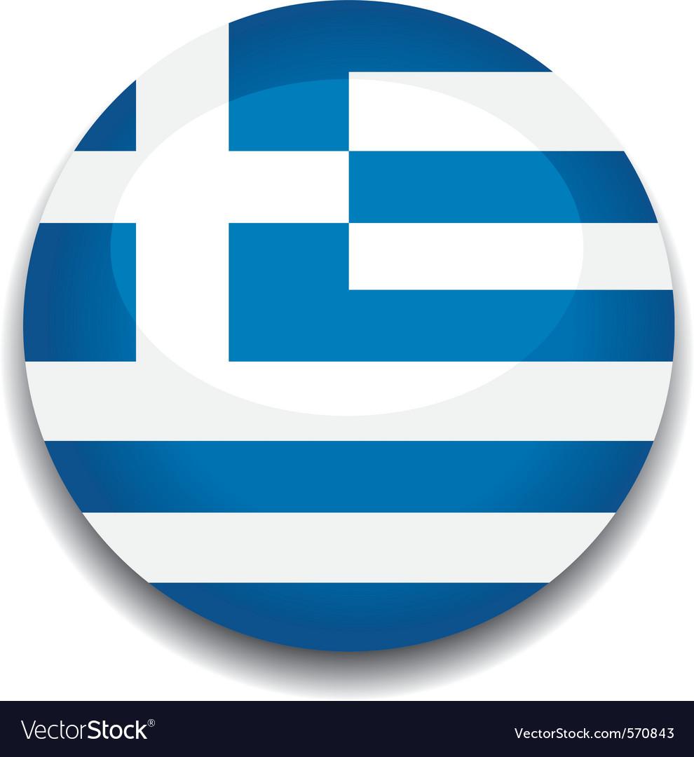 Greece flag vector | Price: 1 Credit (USD $1)