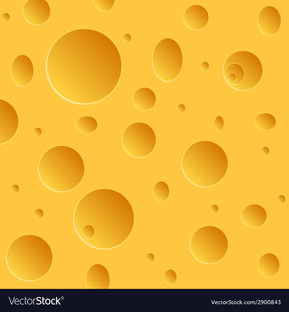 Modern cheese texture background vector | Price: 1 Credit (USD $1)
