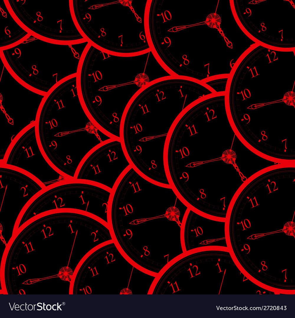 Seamless watch pattern vector | Price: 1 Credit (USD $1)