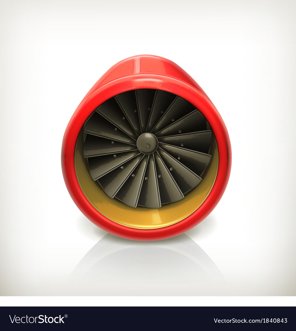 Turbine icon vector | Price: 1 Credit (USD $1)