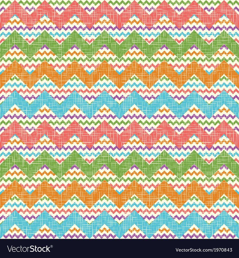 Zigzag chevron pattern vector | Price: 1 Credit (USD $1)