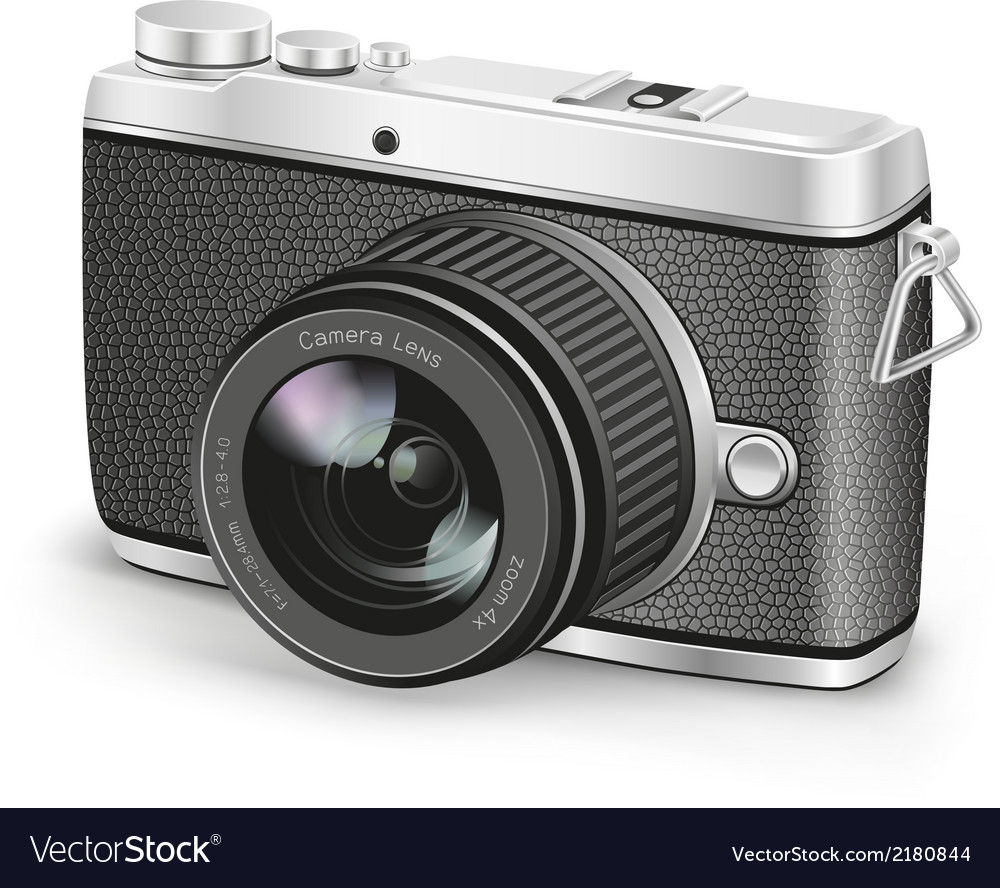 Amateur camera vector | Price: 1 Credit (USD $1)