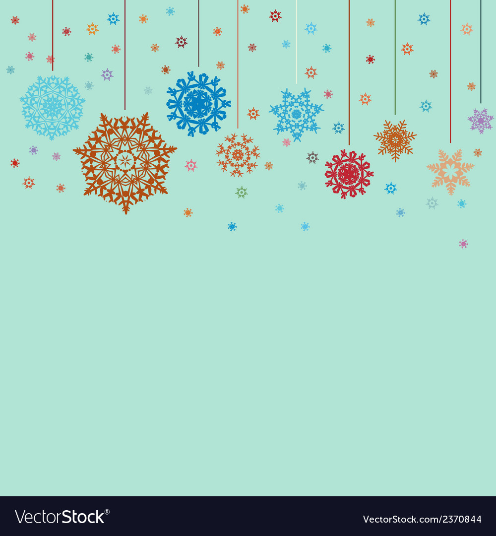Design for xmas card background eps 8 vector | Price: 1 Credit (USD $1)
