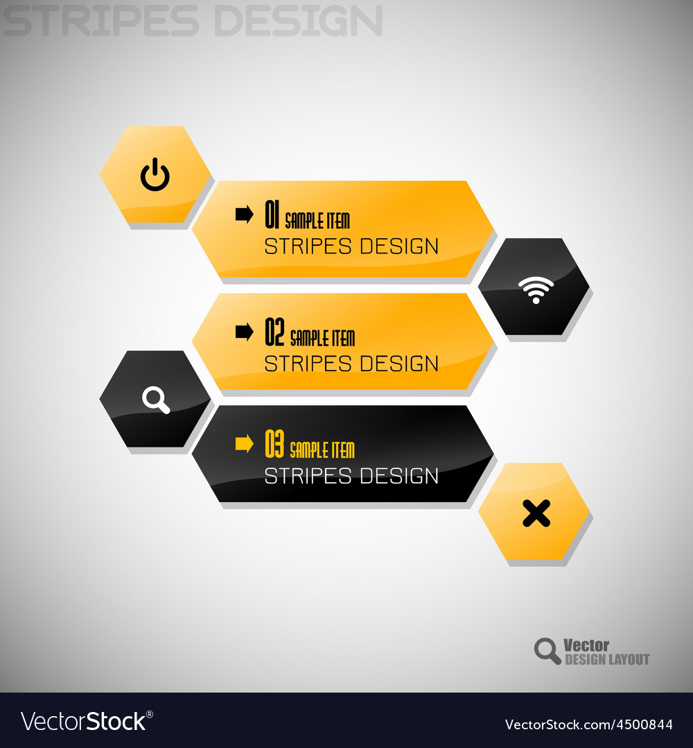 Hexagon design vector | Price: 1 Credit (USD $1)