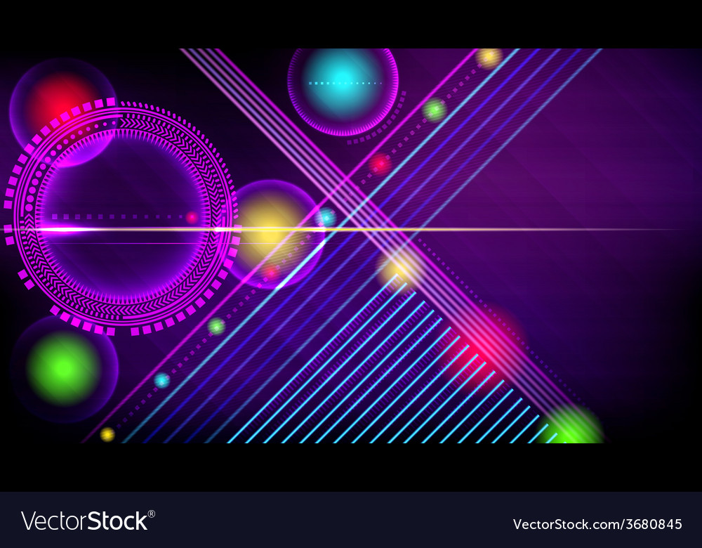 Abstract technology-style background vector | Price: 1 Credit (USD $1)