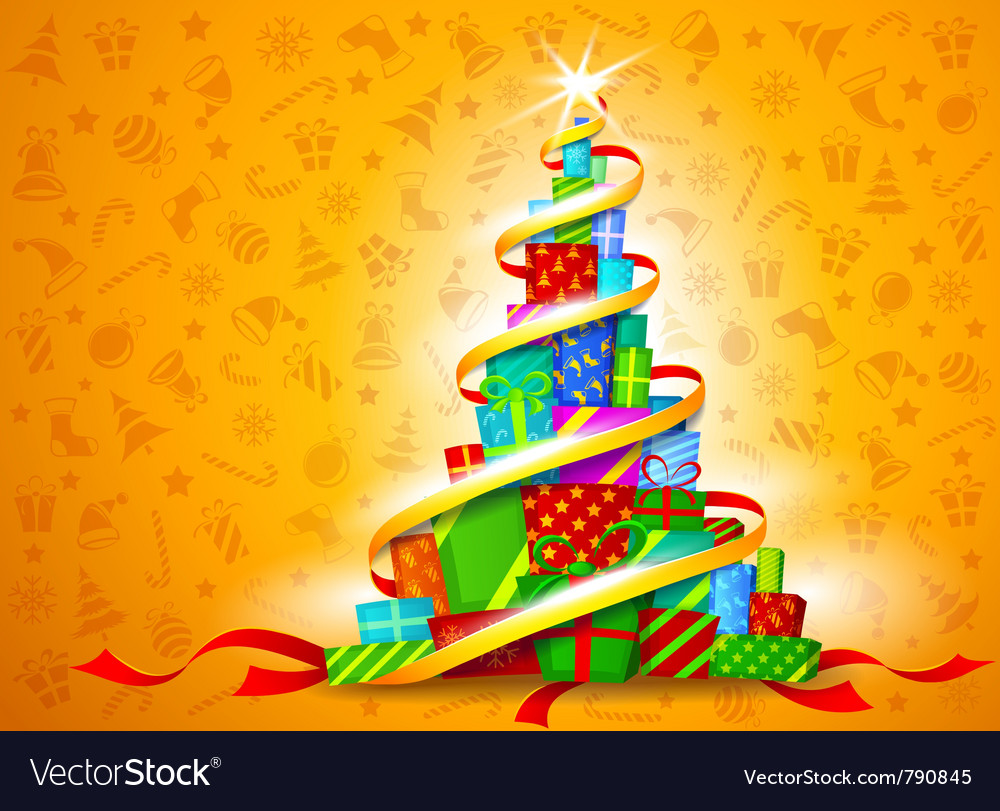 Christmas gifts vector | Price: 3 Credit (USD $3)