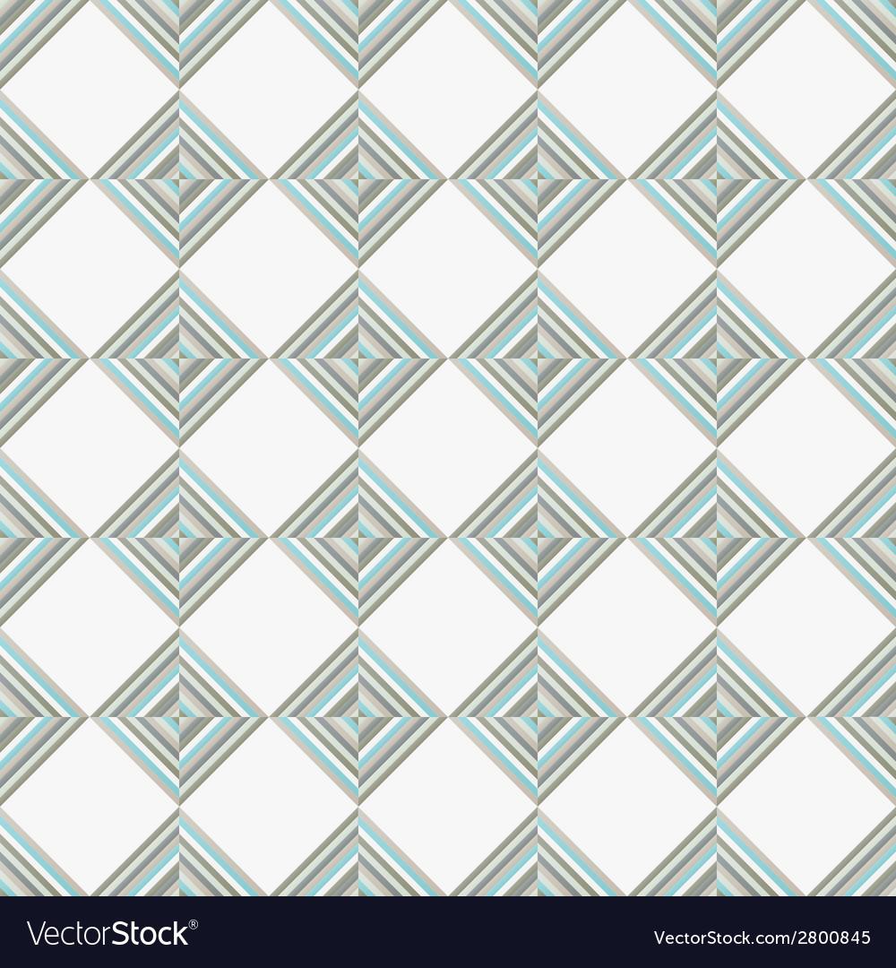 Rhombus seamless pattern vector | Price: 1 Credit (USD $1)