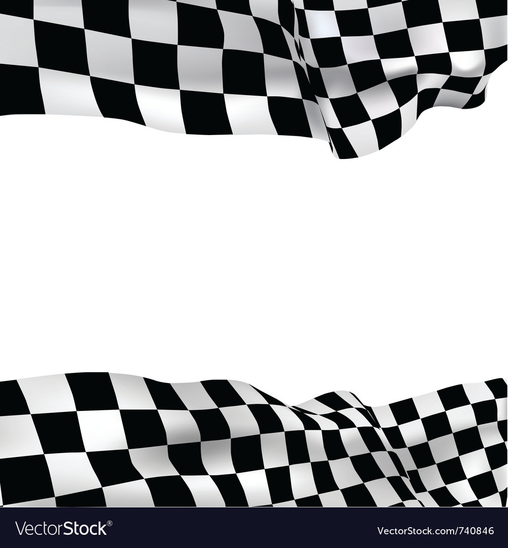 Background checkered flag vector | Price: 1 Credit (USD $1)