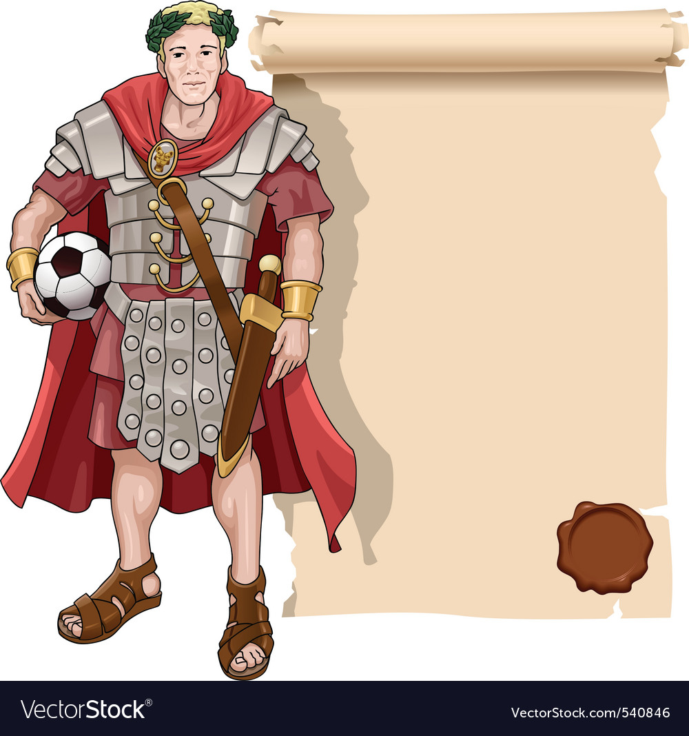 Roman soldier vector | Price: 3 Credit (USD $3)