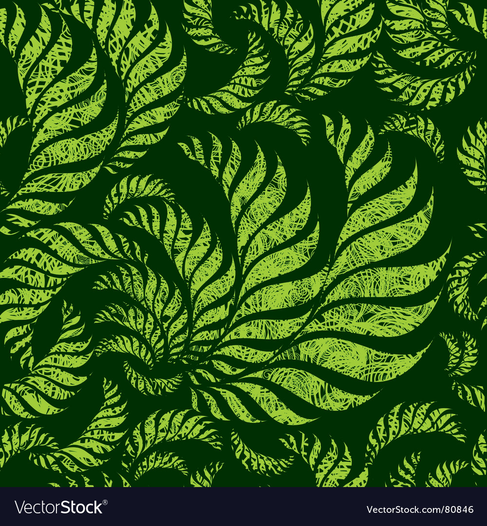 Seamless grunge floral pattern vector | Price: 1 Credit (USD $1)