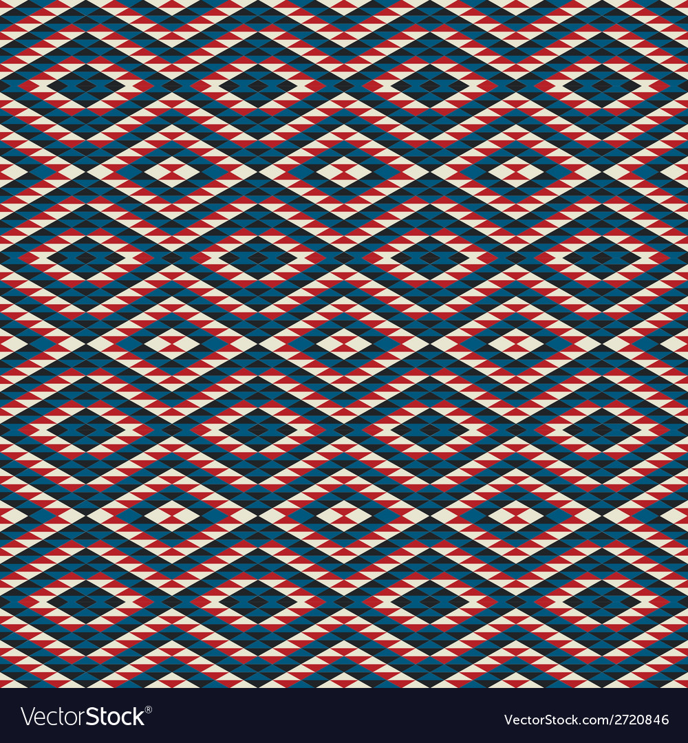 Seamless triangle pattern vector | Price: 1 Credit (USD $1)