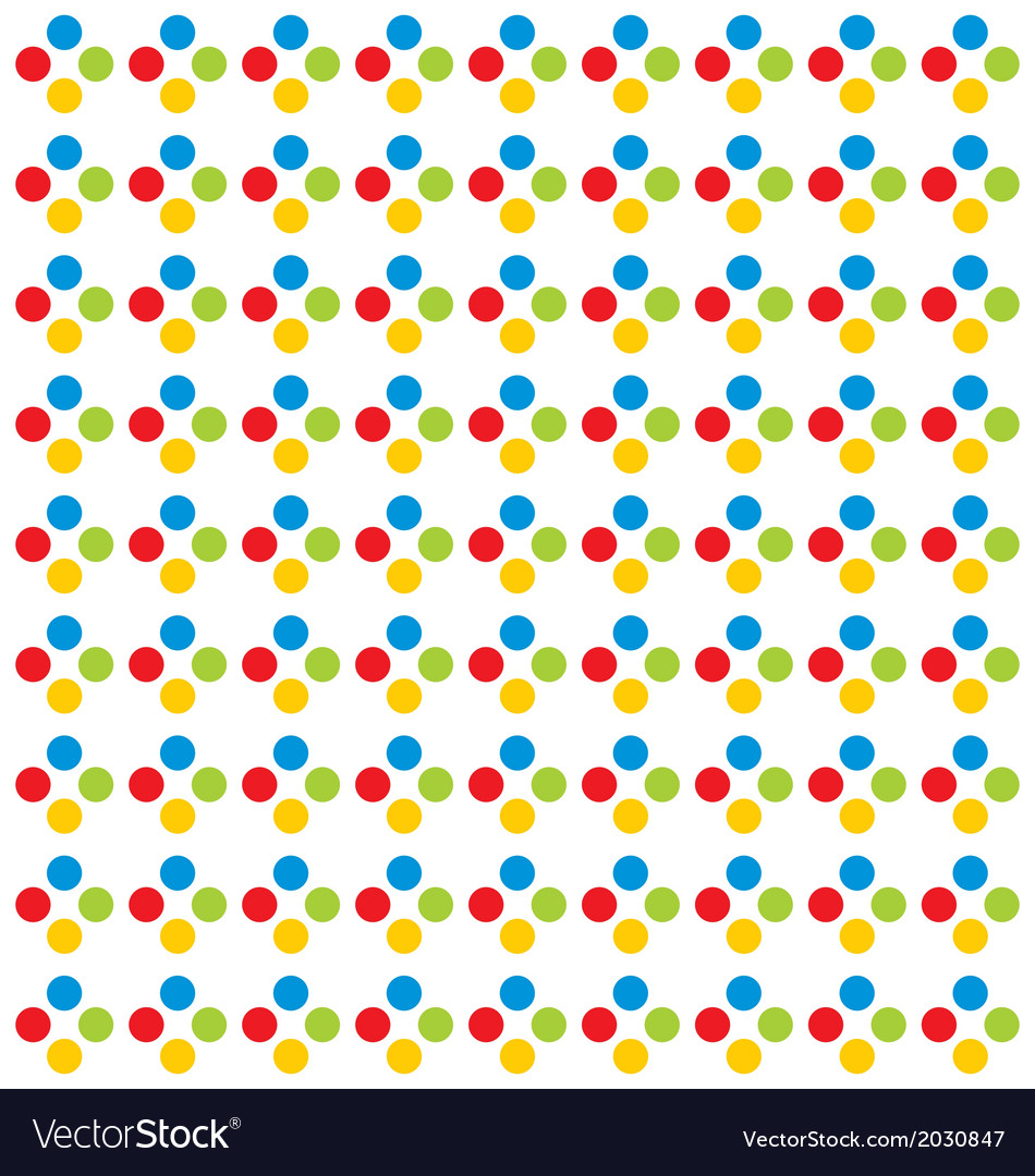 Colorfull dot pattern vector | Price: 1 Credit (USD $1)