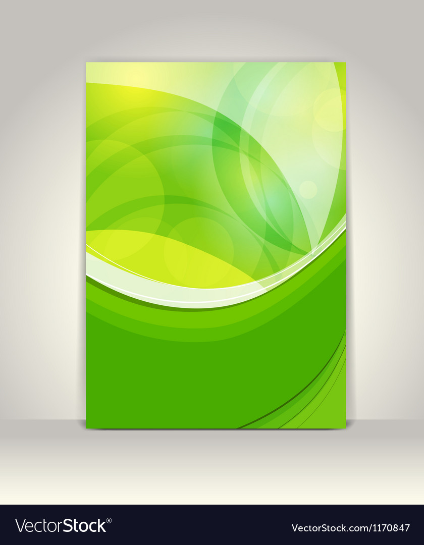 Flyer or brochure template vector | Price: 1 Credit (USD $1)