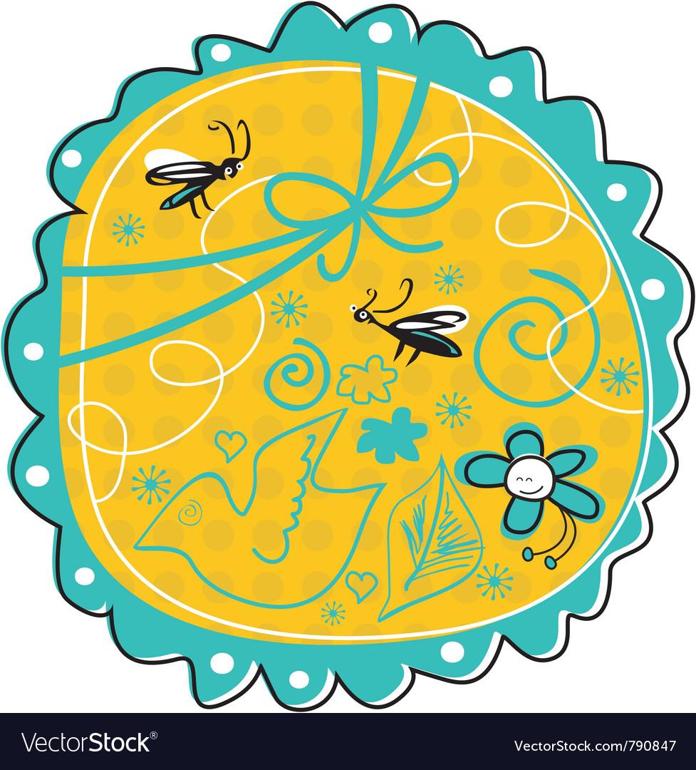 Seasonal doodle vector | Price: 1 Credit (USD $1)