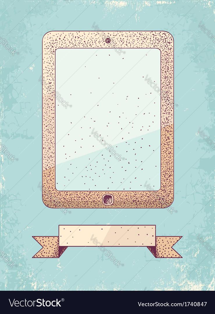 Tablet vector   Price: 1 Credit (USD $1)