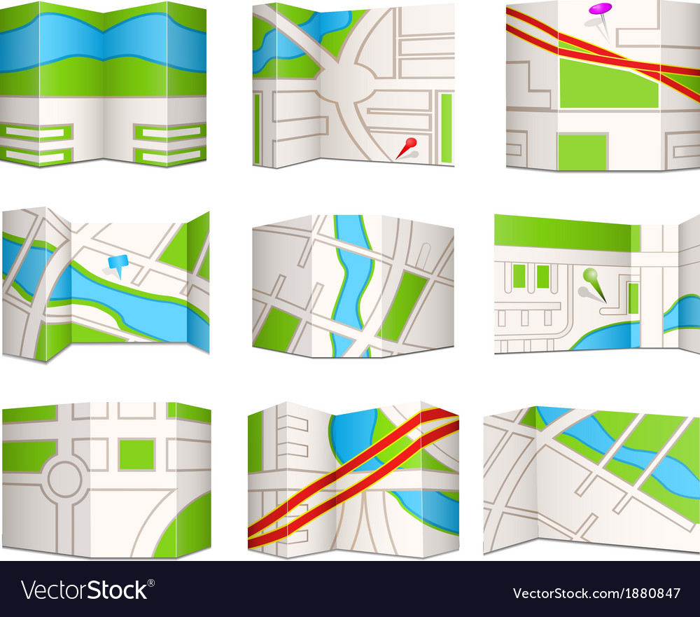 Topo maps vector | Price: 1 Credit (USD $1)