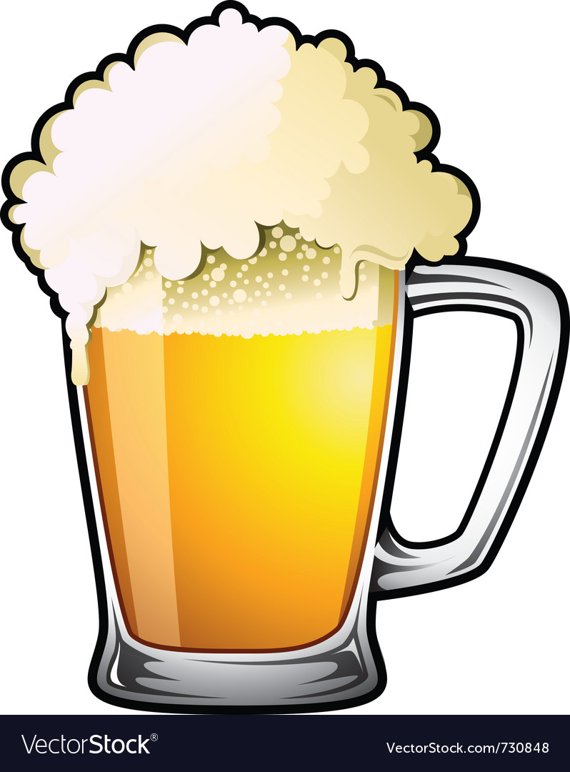 Draught beer vector | Price: 1 Credit (USD $1)