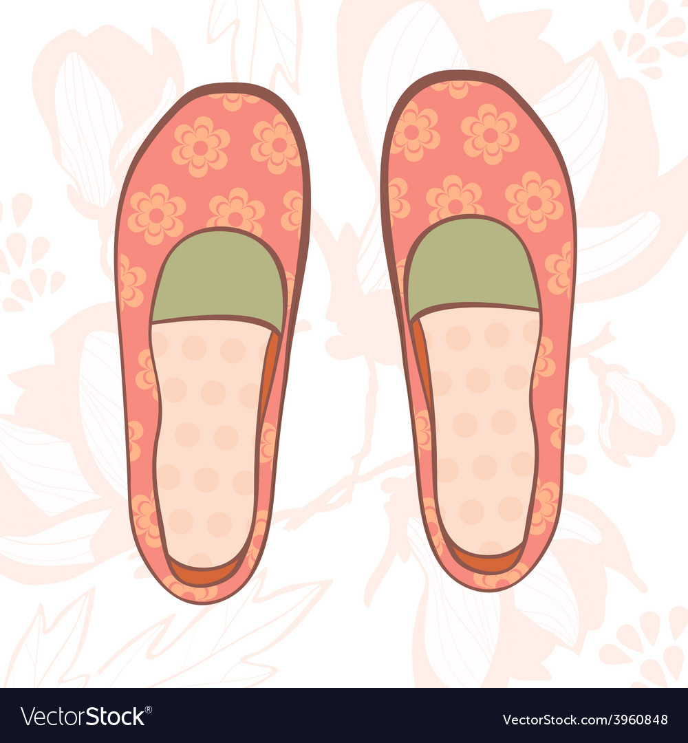 Girly shoes vector | Price: 1 Credit (USD $1)