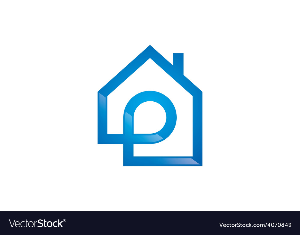House initial realty logo vector | Price: 1 Credit (USD $1)