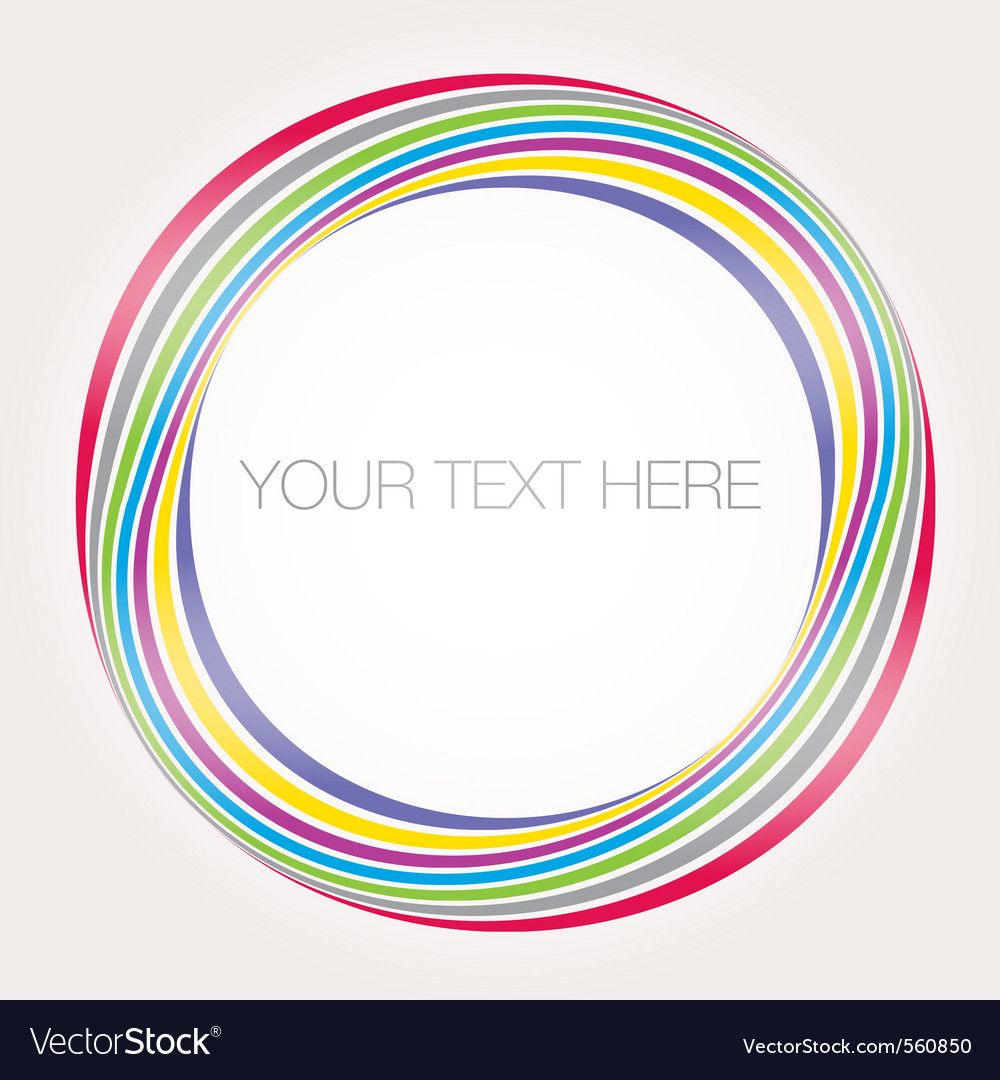 Abstract colorful banner sample text vector | Price: 1 Credit (USD $1)