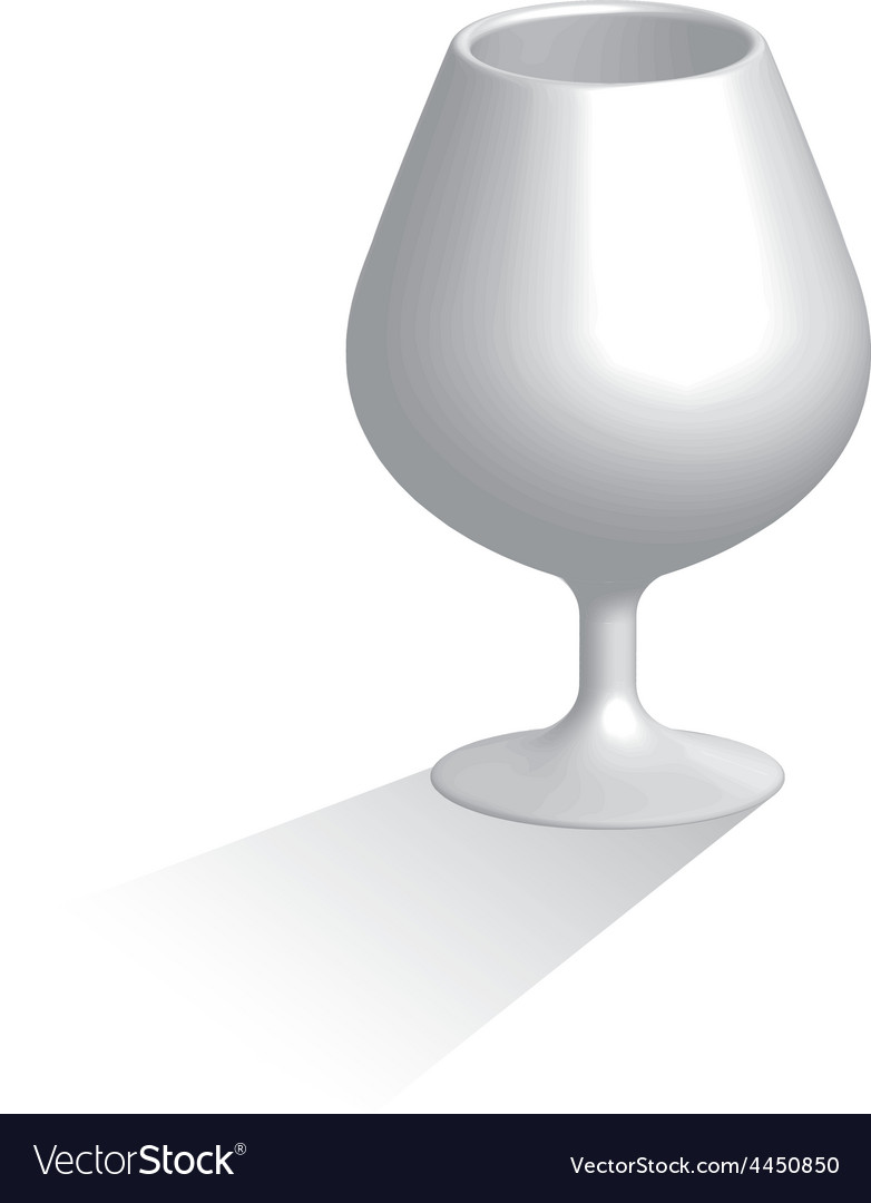 Brandy glass vector | Price: 1 Credit (USD $1)