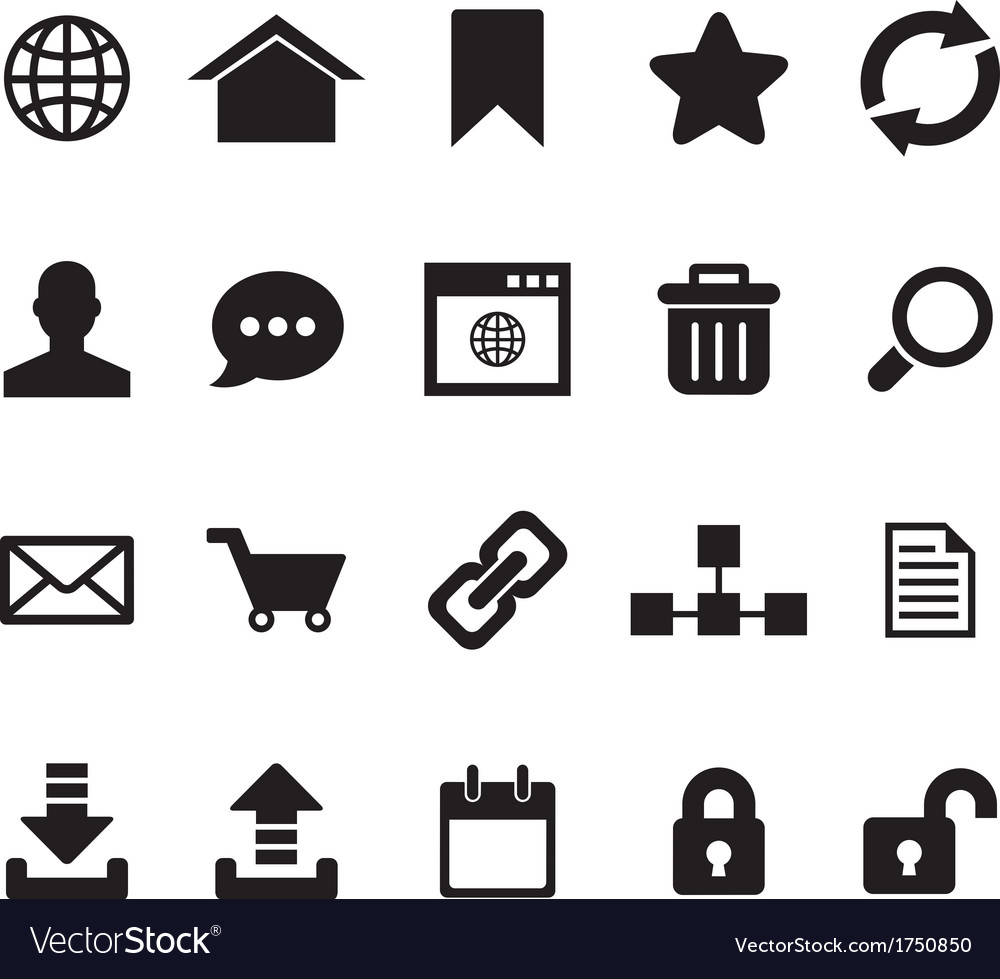 Internet icon vector | Price: 1 Credit (USD $1)