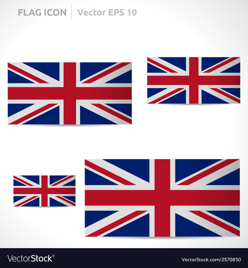 United kingdom flag template vector | Price: 1 Credit (USD $1)
