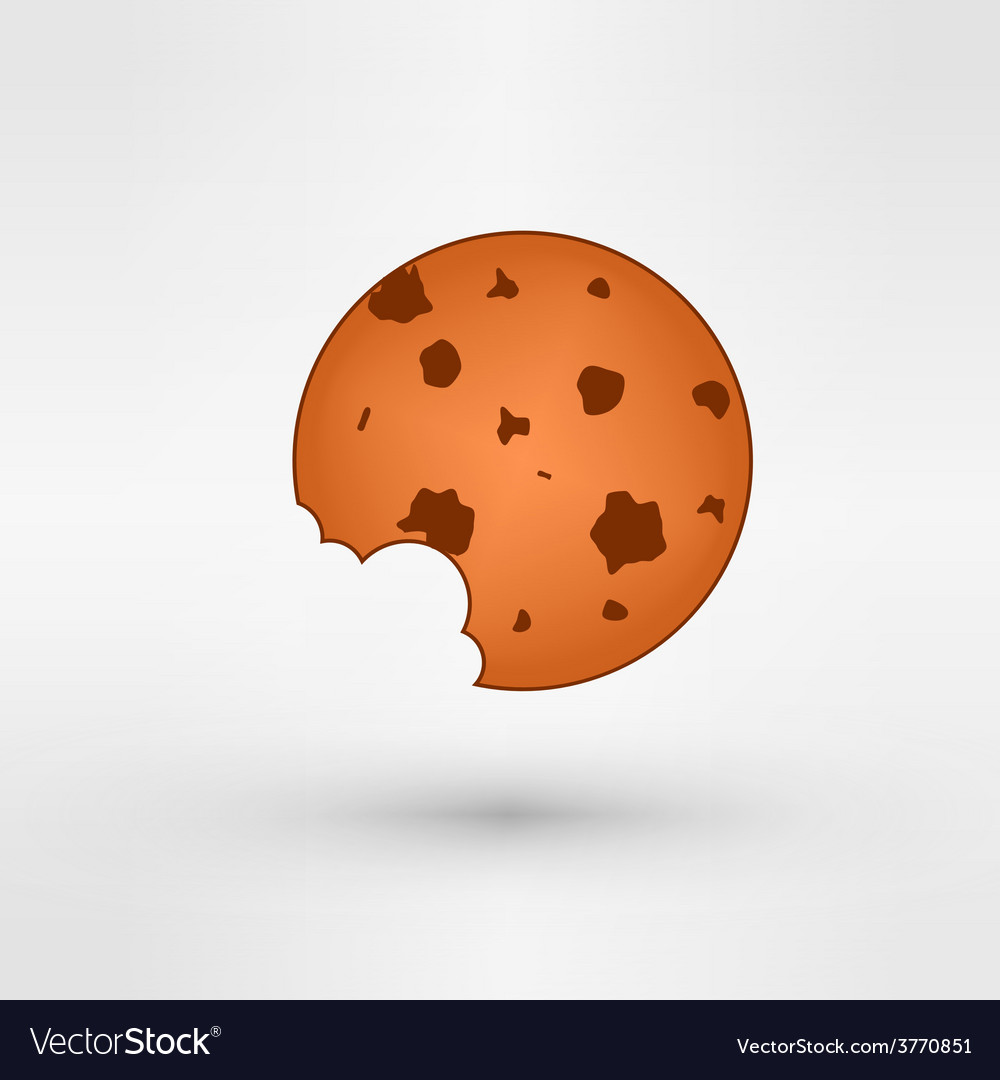 Sweet cookie vector | Price: 1 Credit (USD $1)