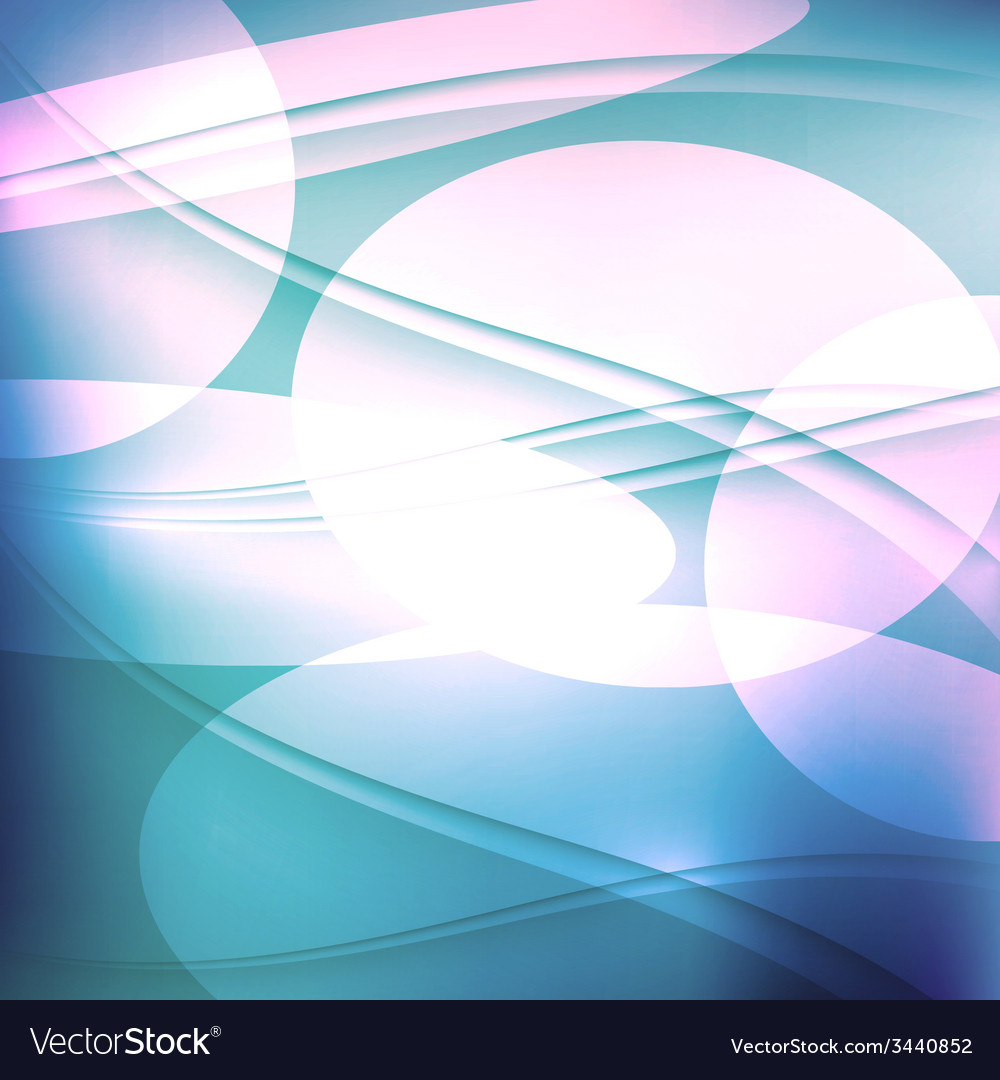 Abstract blue background with waves vector | Price: 1 Credit (USD $1)