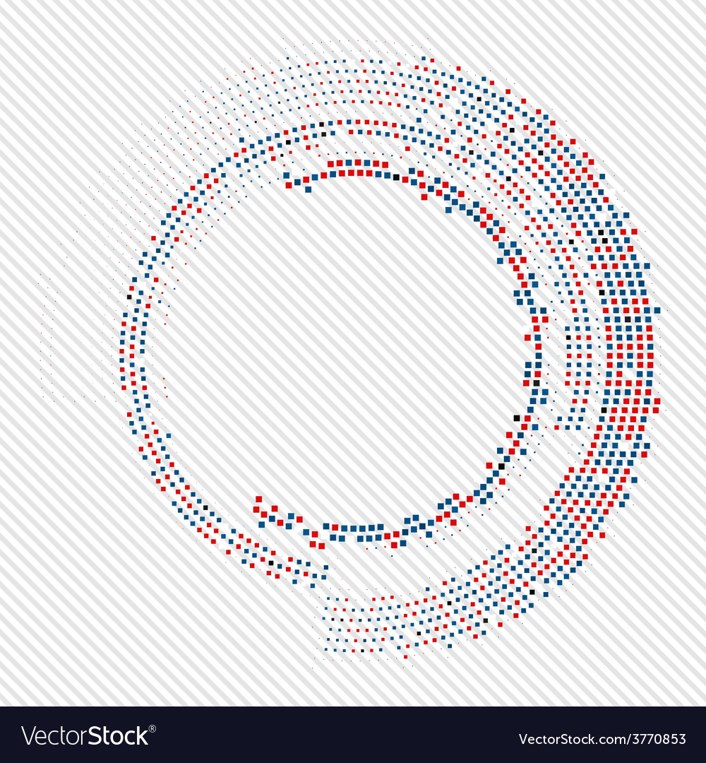 Abstract circle halftone vector   Price: 1 Credit (USD $1)