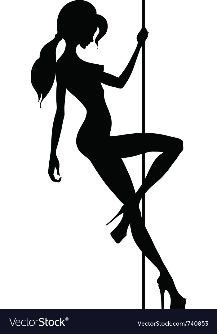 Beautiful silhouette vector | Price: 1 Credit (USD $1)