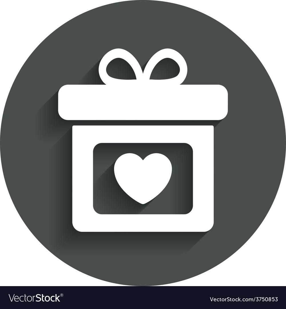 Gift box sign icon present symbol vector   Price: 1 Credit (USD $1)