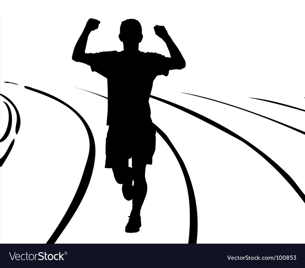 Man running vector | Price: 1 Credit (USD $1)